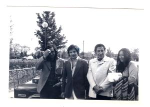 Jorge Fajardo Jorge Cancino Antonino Mazza  Ana Maria Pavela Ottawa 1978 1979