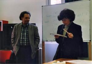 William Boelhower and Franca Rame Cà Foscari