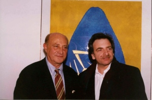 Antonino with Italian artist Ossi di Seppia copy